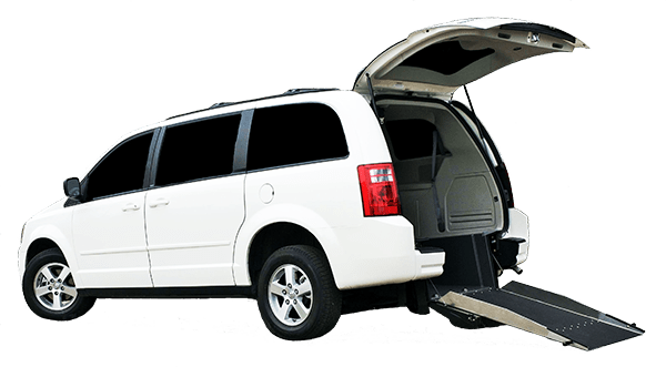 Rear Entry Van Conversion | Dodge Grand Caravan | Savaria