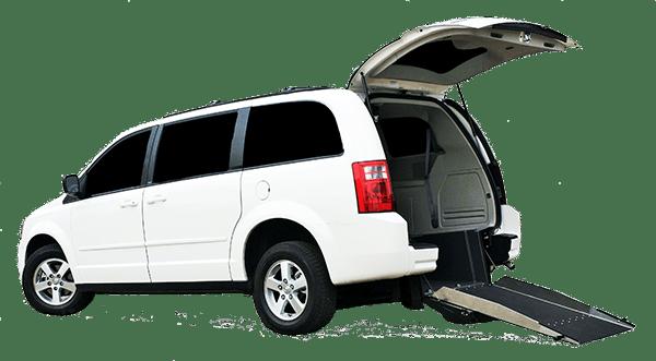 Rear Entry Van Conversion | Dodge Grand Caravan | Savaria