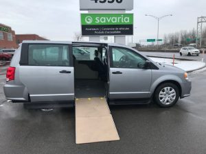 2019 Dodge Grand Caravan CVP short floor side entry wheelchair van conversion